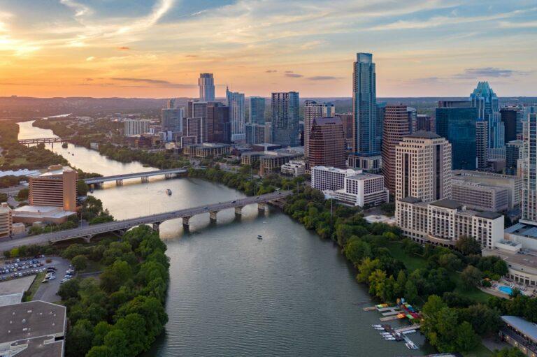 SoCo Village | Austin, TX skyline
