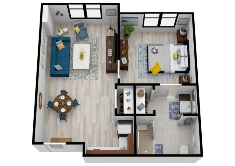 SoCo Village | One Bedroom 2