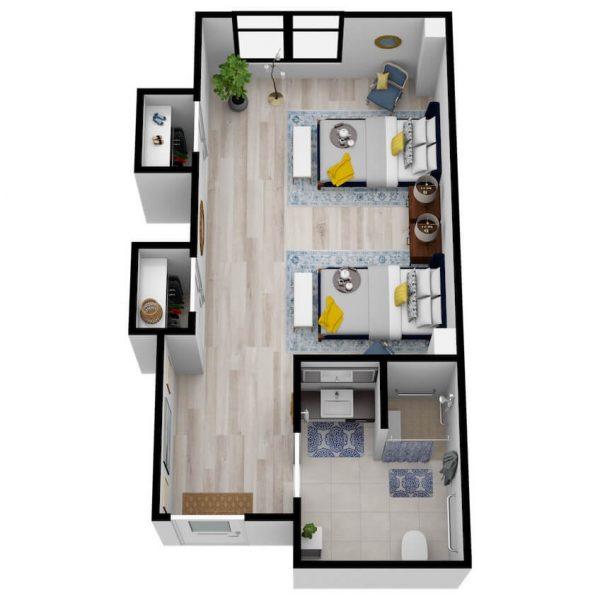 SoCo Village | Companion Suite